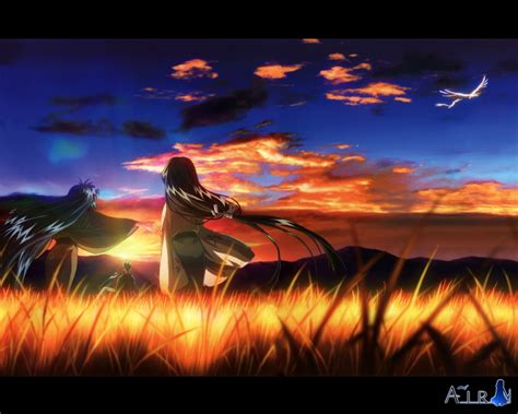 Air Anime Wallpaper - air anime wallpaper 1280x1024 wallpoper 385465
