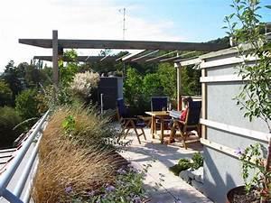freiraum landschaft dachgarten With französischer balkon mit garten dach