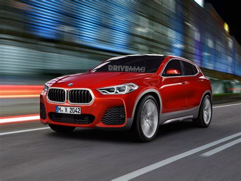 Upcoming Bmw X2 Rendered With Styling Cues From The Concept