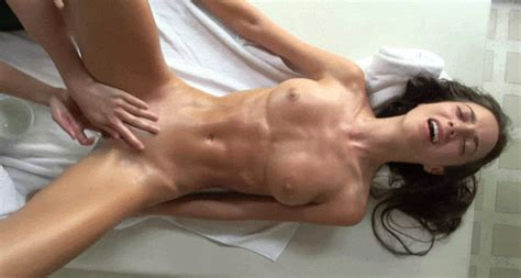 super fit brunette hottie gets worked over thatguymikey