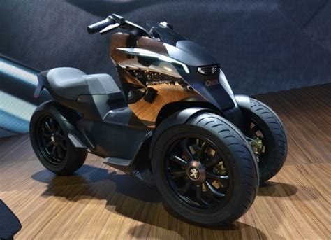 Peugeot Edl-132, Exotic French Concept E-bike