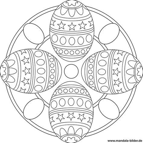 mandala ostereier malvorlage zum ausdrucken