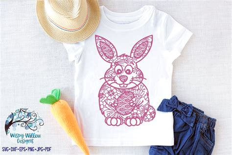 Free svg files to download. Easter Bunny Mandala SVG, DXF, eps, jpg, png, Easter Bunny ...