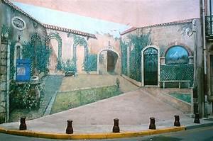 Mur Trompe L Oeil : peintures trompe l 39 oeil et toiles scenographiques ~ Melissatoandfro.com Idées de Décoration