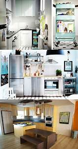 Smart, U0026, Space-saving, Ideas, For, Small, Kitchens
