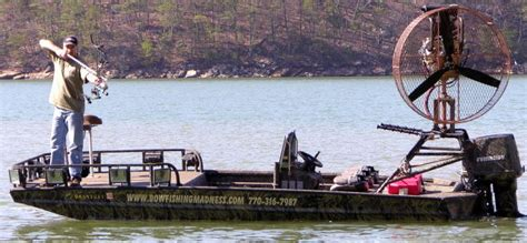 Boats With Big Fans by The Bowfishing Madness Boat