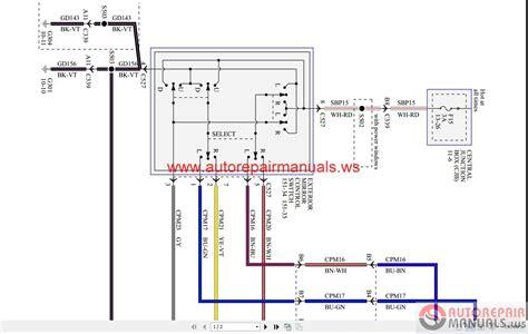 ford ecosport   wiring diagram auto repair