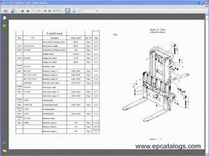 Toyota Forklift Parts Catalog