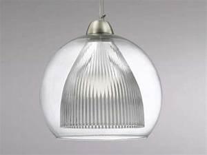 Luminaire Boule Verre : luminaire design pour cuisine suspension en verre sampa ~ Teatrodelosmanantiales.com Idées de Décoration