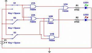 Full Adder Circuit Pcb Design Using Multisim