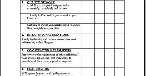 probation evaluation form