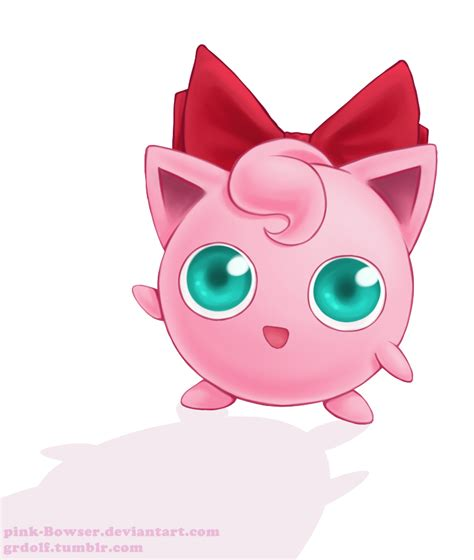 Super Smash Bros Anime Wallpaper Jigglypuff 39 S Bow By Pink Bowser On Deviantart
