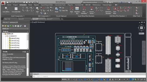 Autocad Electrical Tutorial Panel Drawings Youtube