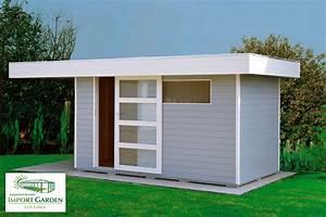 Chalet De Jardin Contemporain : abri de jardin toit plat au design contemporain concept abri ~ Premium-room.com Idées de Décoration