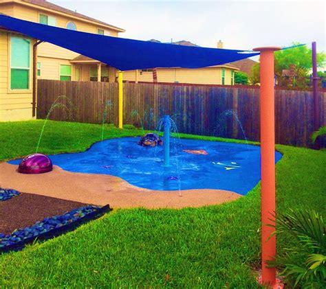 best ideas about backyard splash pad on water pad backyard