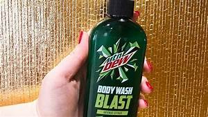 Mountain Dew Releases Body Wash That U0026 39 S Made With The Real