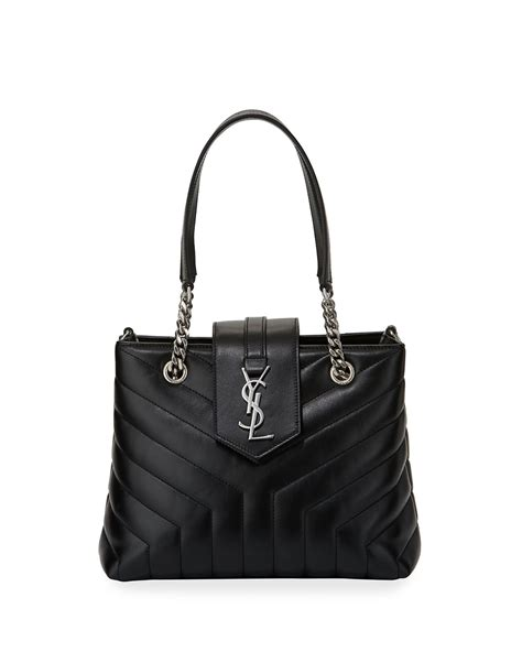 saint laurent monogram ysl loulou quilted chain shoulder