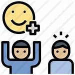 Premium Einstellung Positive Icon Lineal Stil Icons