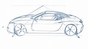 Sports Car Side View Sketch | www.imgkid.com - The Image ...