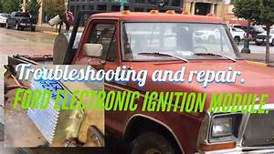Electronic Ignition Module On A Ford