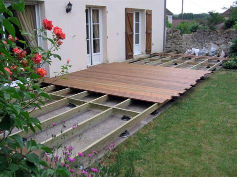 aménagement terrasse et jardin photo amenagements de terrasse clotures parcs et jardins conflans meriel