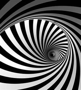 Wall mural wallpaper helix 3D effect black white photo 180