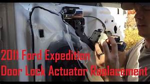 Door Lock Actuator Replacement  2011 Expedition