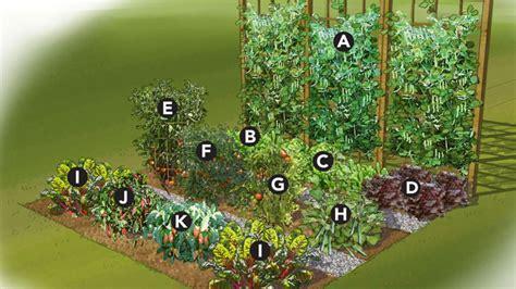 Raised Bed Vegetable Garden Small Vegetable Garden Plans