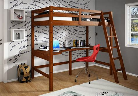 bunk bed desk combo loft beds for adults coolest and loveliest ideas