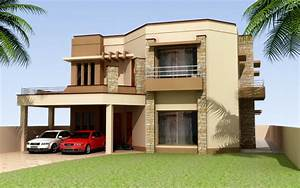 3d front elevation of house good decorating ideas for Home interior design styles in pakistan