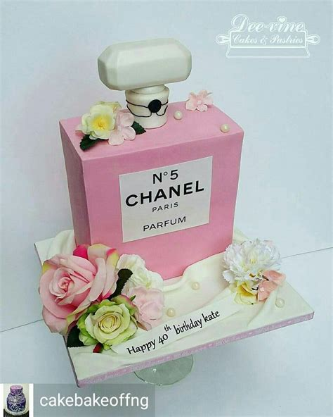 chanel birthday cake ideas  pinterest chanel