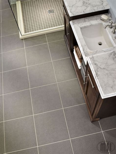 Beton Concrete 24 in. x 24 in. Glazed Porcelain Floor and