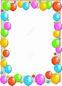Birthday Page Borders Clip Art (62+)