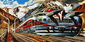 In 1960, four years before Japan's first Shinkansen