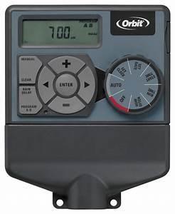 Orbit 6-station Easy-dial Sprinkler Timer-57876