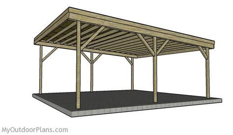 building  double carport plans   build  carport
