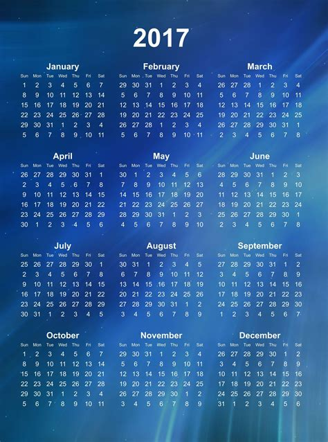 Calendar 2017 Wallpapers - Wallpaper Cave