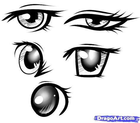 draw female anime eyes step  step anime eyes