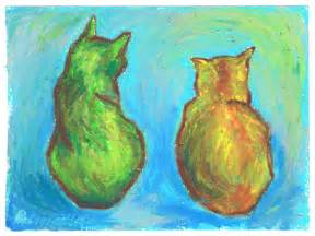 gogh cat daily sketch update on two cats after gogh the