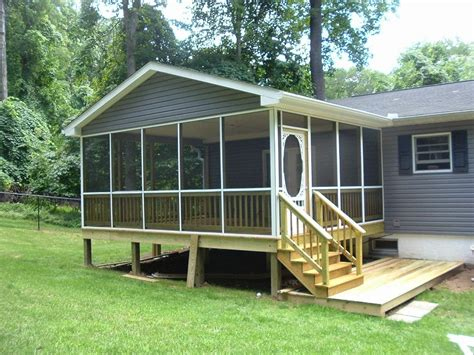 Mobile Home Screened Porch Ideas