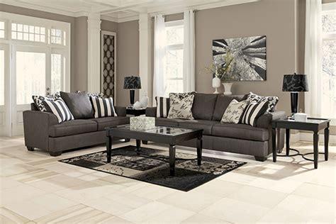 levon charcoal queen sofa sleeper  memory foam