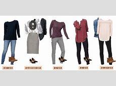 Loft Winter Capsule Wardrobe Mix & Match Outfits