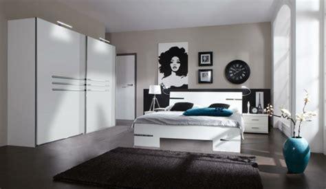 chambre en noir et blanc moderne chambre à coucher complète archzine fr