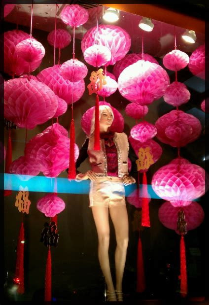 Chinese New Year Theme @ Central Chidlom, Bangkok  Window Display @ Bangkok, Thailand Visual