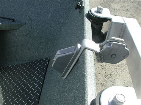Drift Boat Bow Anchor System by Koffler Boats White Water Pram Options Anchor Systems