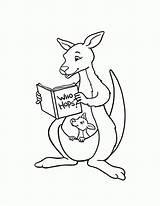 Kangaroo Coloring Printable Kolorowanki Kangur Australia Clip Dzieci Dla Australien Pobrania Adults Bestcoloringpagesforkids Ausmalbilder Stick Dulemba January Library Clipart Popular sketch template