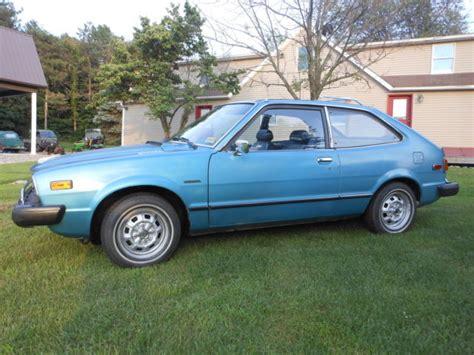 Honda Accord Hatchback 1977 Blue For Sale. Sj-d2024355