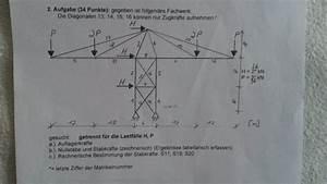 Fehler Des Mittelwertes Berechnen : auflagerkr fte eines fachwerks berechnen mathelounge ~ Themetempest.com Abrechnung