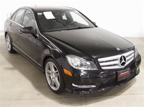 Taxes and fees (title, registration, license, document and transportation fees) are not included. Used 2013 Mercedes-Benz C-Class C250 25593 Miles Black 4D Sedan 1.8L I4 DOHC 16V 7G-T for sale