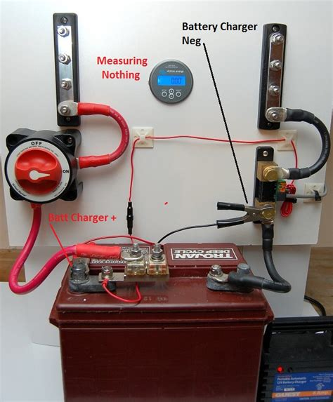 Installing Battery Monitor Marine How